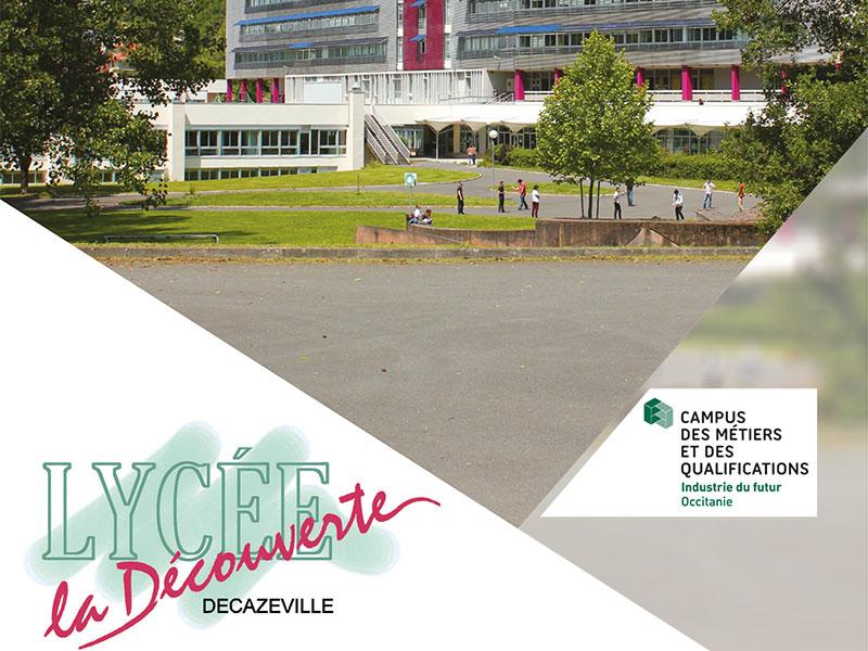 Plaquette Lycée Décazeville